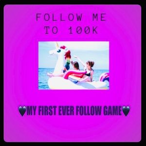 Other - 🖤FOLLOW GAME🖤 FOLLOW ME TO 100K Price dropped‼️